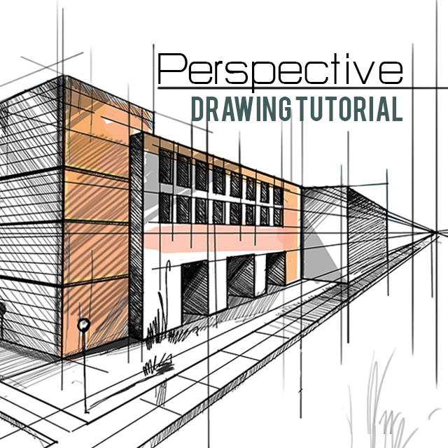 Line Art Picsart : How to create a perspective drawing with picsart