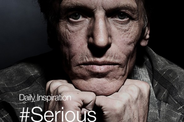 Friday Inspiration: #Serious