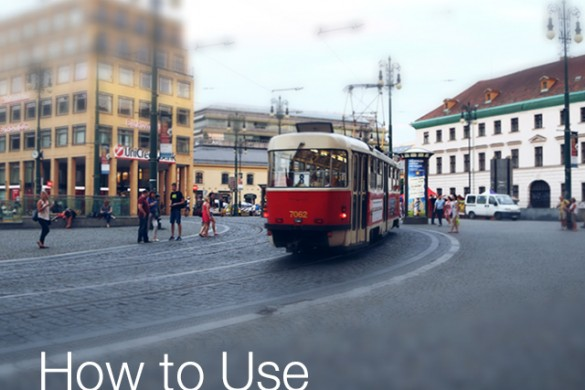 How to Use PicsArt's Tilt Shift Tool