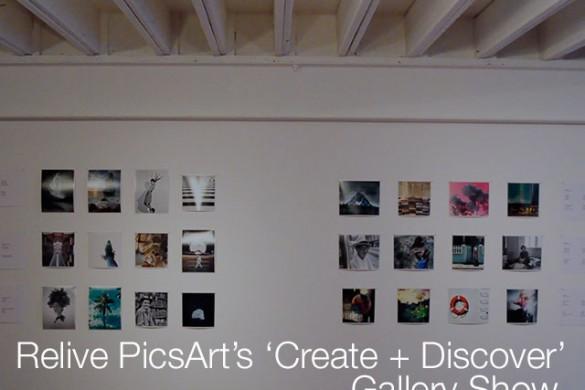 Recap: 'Create + Discover' Gallery Show