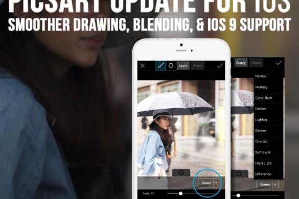 PicsArt Update for iOS Brings You Smooth Drawing & Sleek Editing