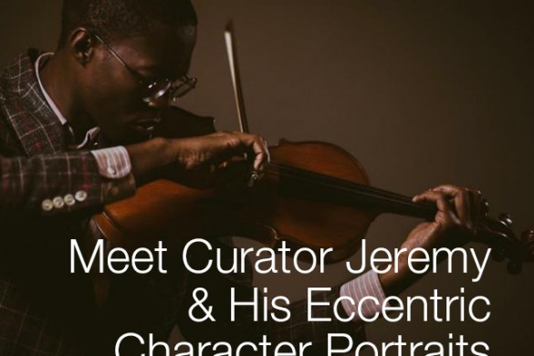 Meet Curator Jeremy Scott & His Eccentric Character Portraits