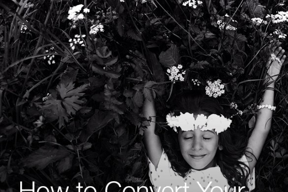 How to Convert Your Shots to Black & White With the Photo Editor