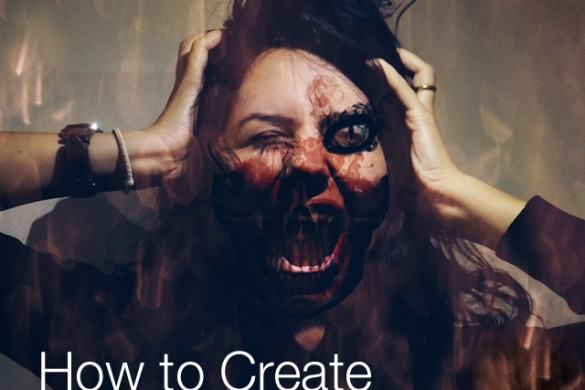 How to Create a Scary Portrait With PicsArt's Photo Editor