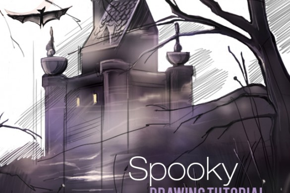 How to Draw a Spooky Scene With PicsArt's Drawing Tools