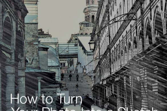 How to Turn a Photo Into a Sketch