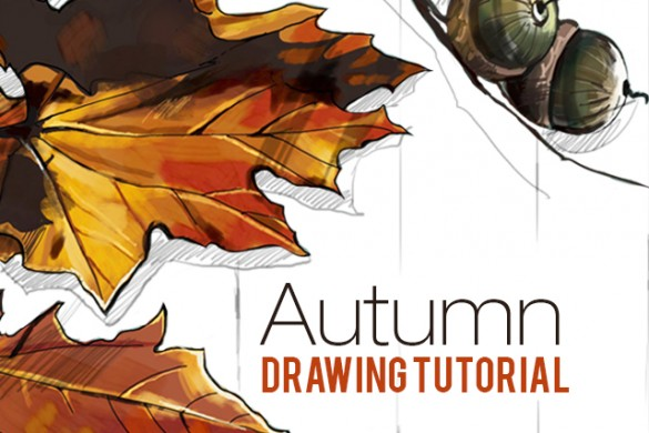 How to Draw an Autumn Scene With PicsArt's Drawing Tools