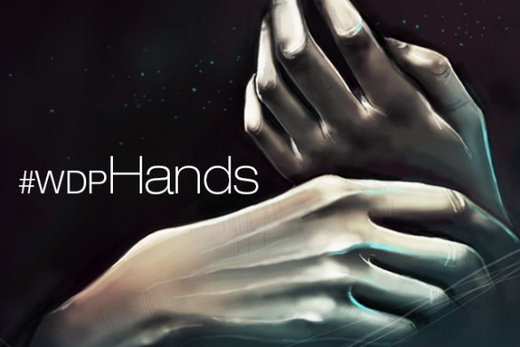 Weekly Drawing Project: Hands