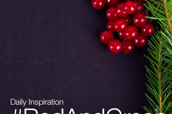 Sunday Inspiration: #RedAndGreen