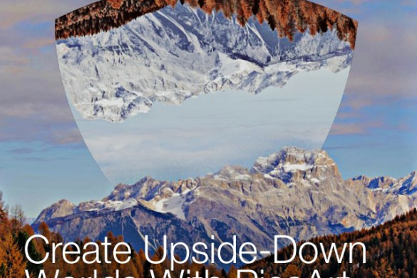 How to Create an Upside-Down Image With the Photo Editor