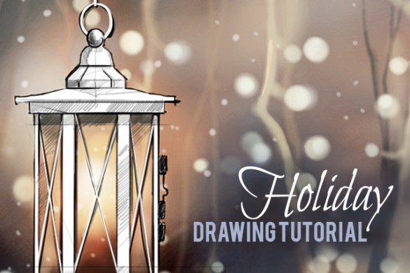 How to Draw a Holiday Scene With PicsArt's Drawing Tools