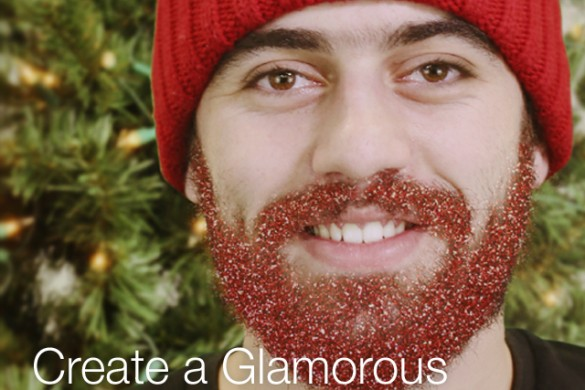Create a Glamorous Glitter Beard With the Photo Editor