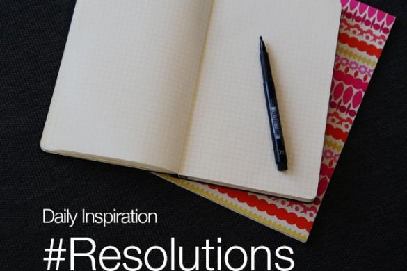 Thursday Inspiration: #Resolutions