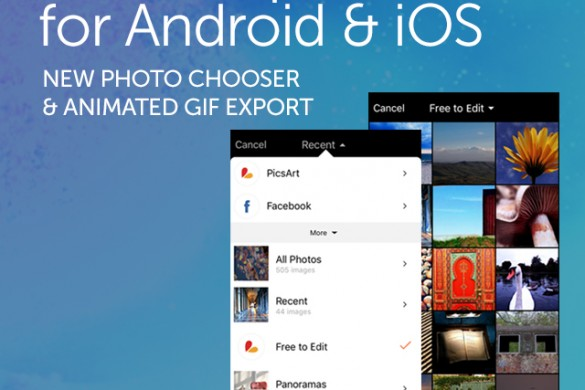Download the Android & iOS Update for a New Photo Chooser & Animated GIF Export