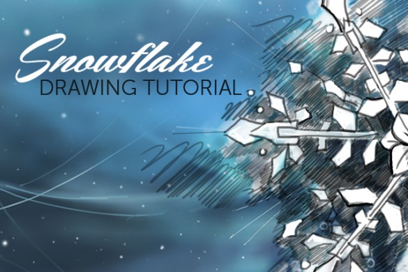 How to Draw and Color a Snowflake With PicsArt's Drawing Tools