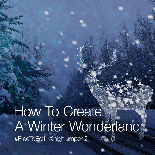 How to Create a Winter Wonderland With the Photo Editor