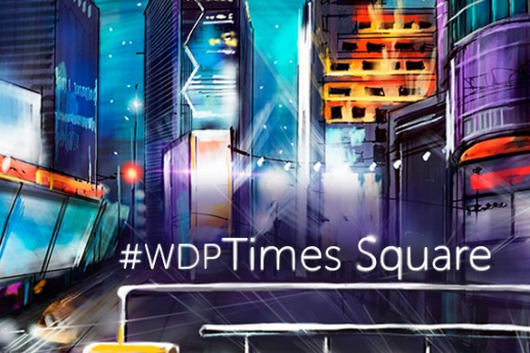Weekly Drawing Project: Times Square