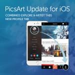 Picsart update for IOS