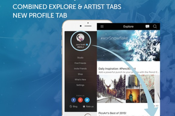 Download the iOS Update to Experience the Powerful New Explore & Profile Tabs
