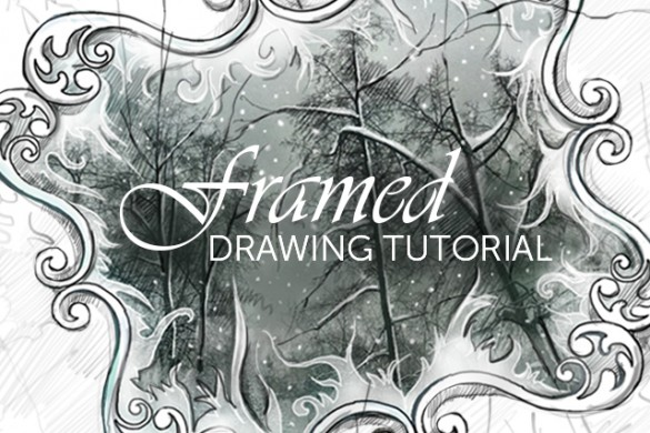 How to Draw a Frame With PicsArt's Drawing Tools