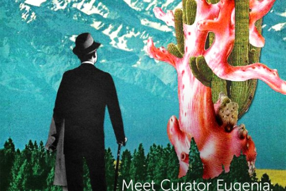 Meet Curator Eugenia: A Rocketship to the Past With Vintage Sci-Fi Collages