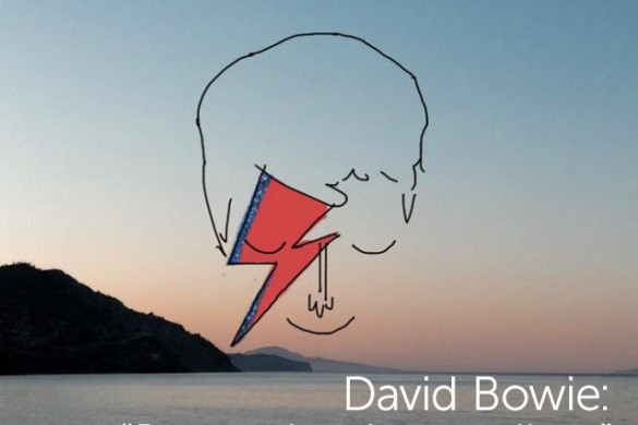 "David Bowie: ""No More Colors, Just a Simple Goodbye"""