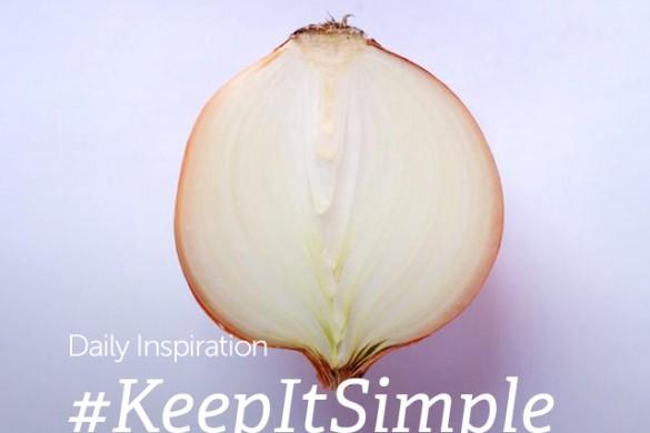 Friday Inspiration: #KeepItSimple