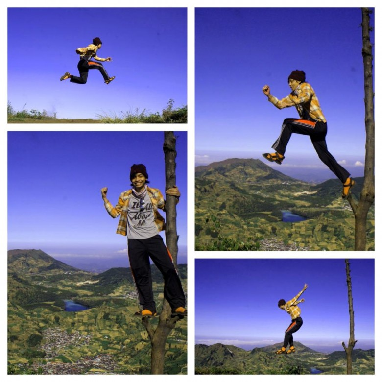 kung fu leap picture collage
