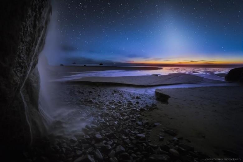 starry night sky photography