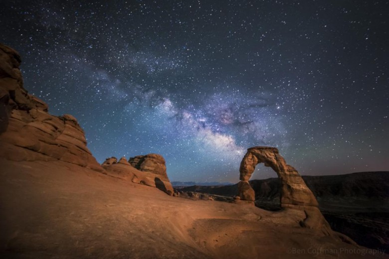Milky Way photo Utah