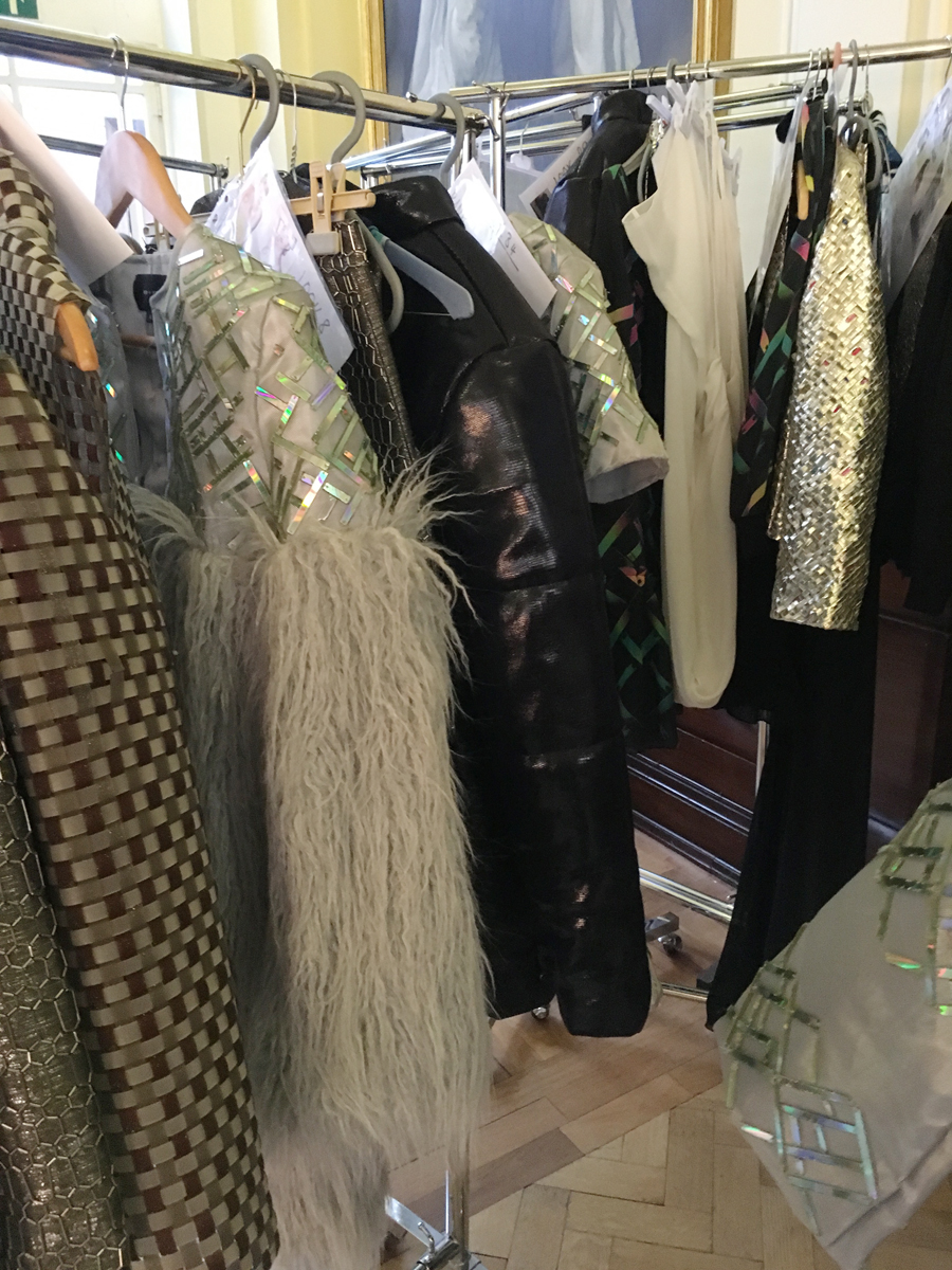 London fashion week designer dresses
