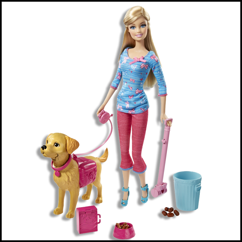 dog-walking-potty-training-barbie