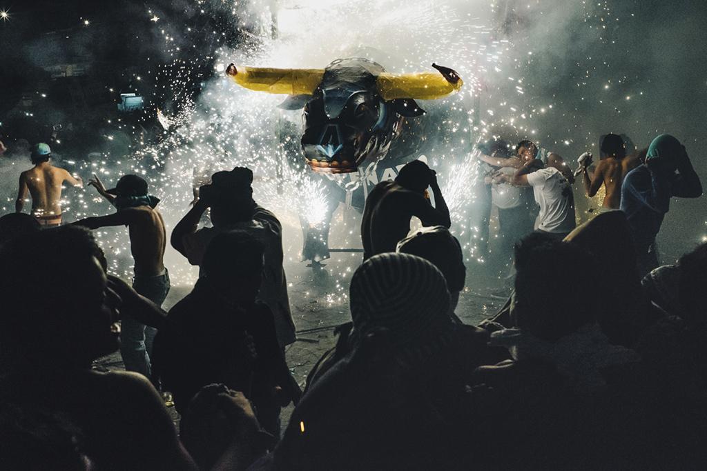 pyrotechnics festival, Mexico