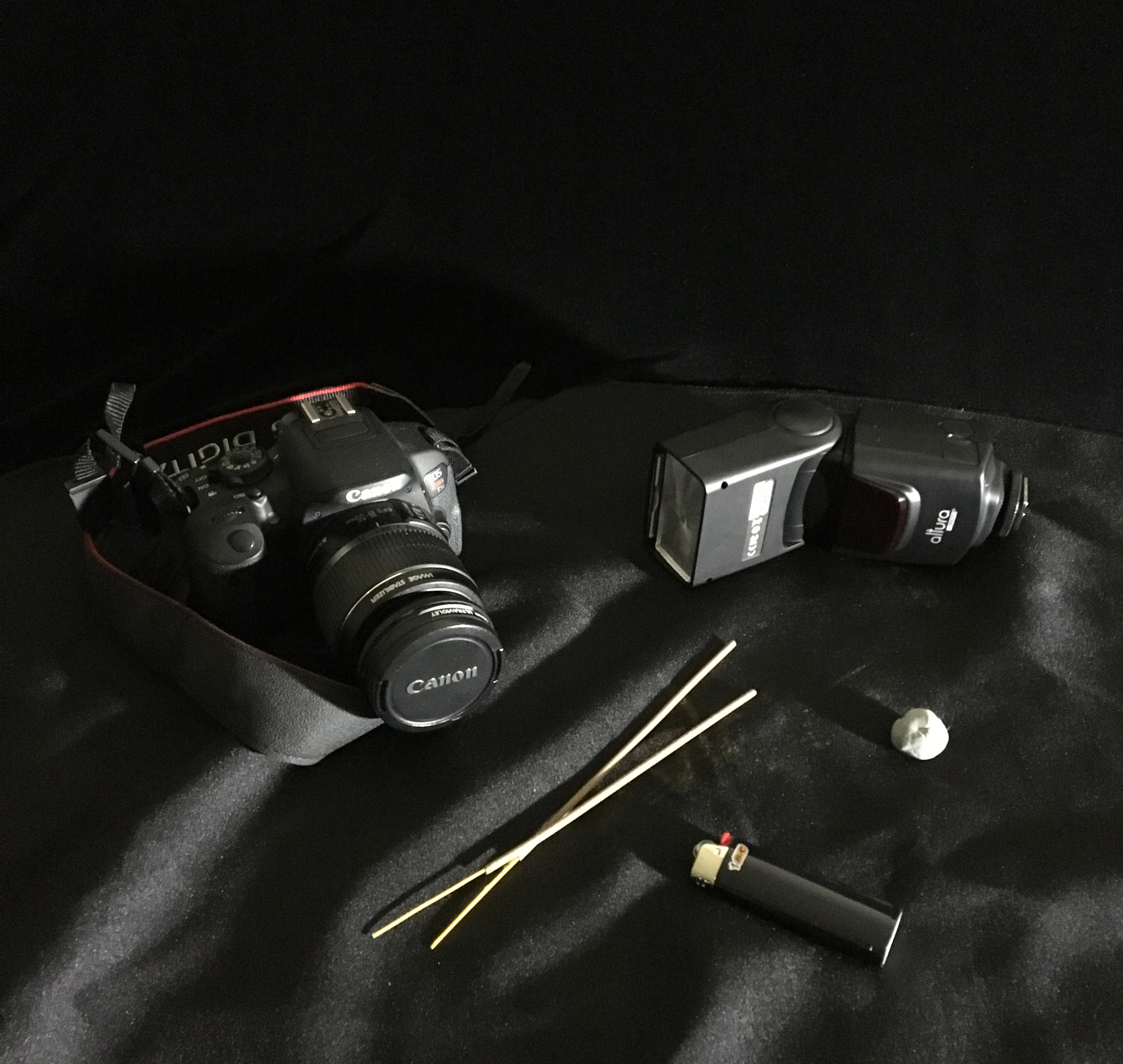 smoke photography setup