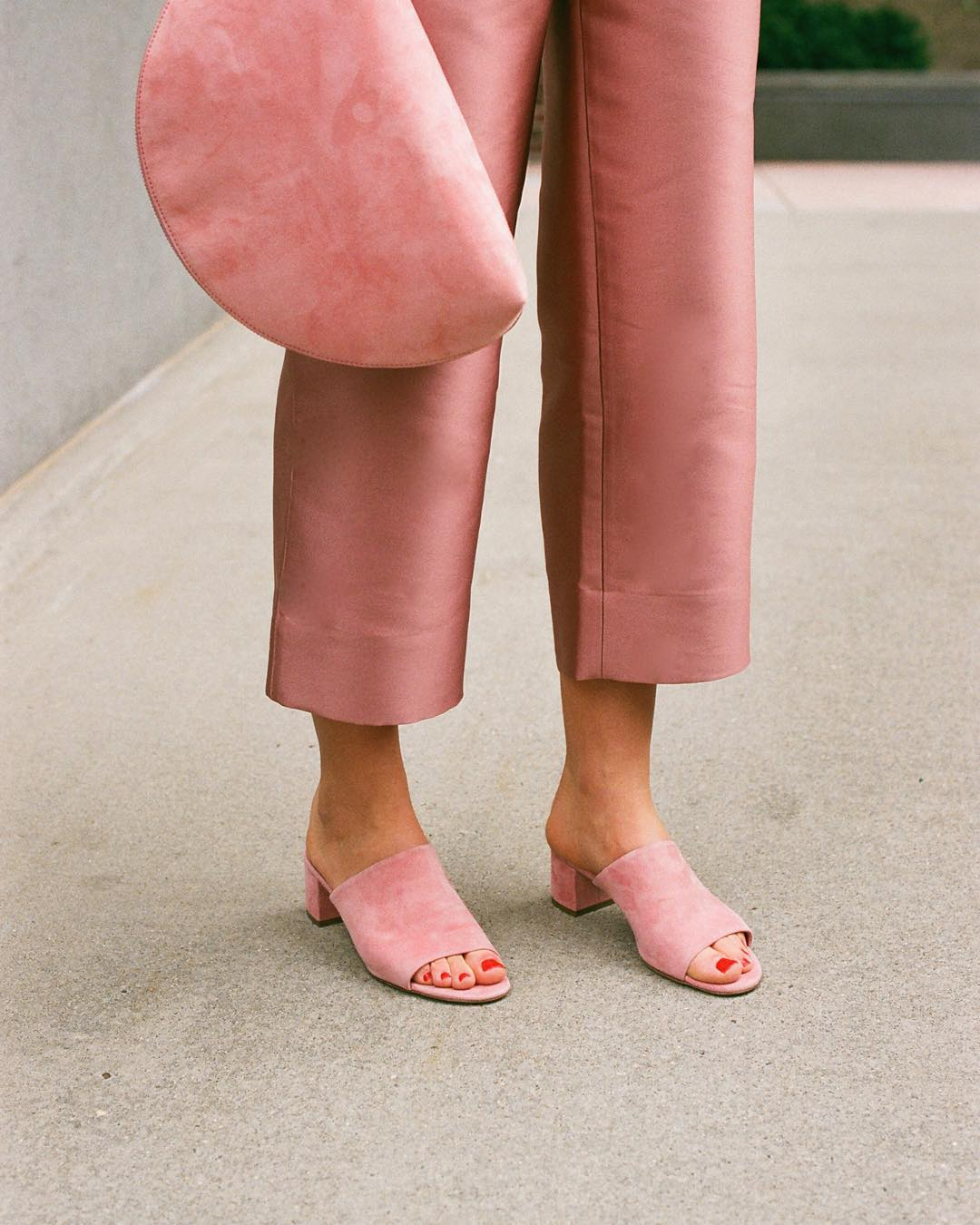 pastel pink fashion photos