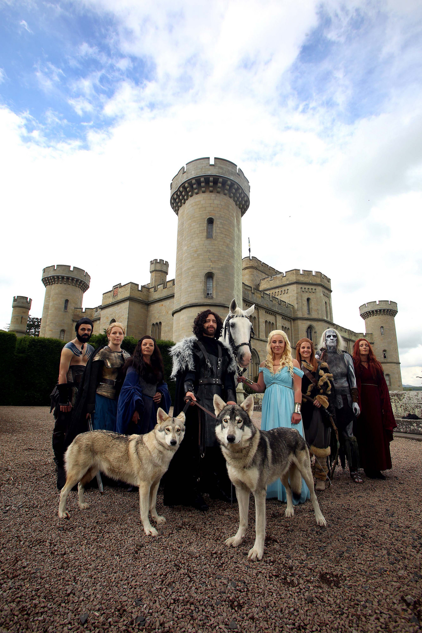 Game of Thrones wedding photos by Geoff Caddick