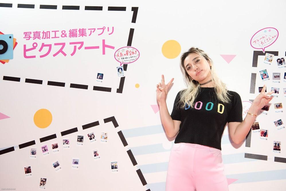 Alisa Ueno 植野 有砂 at Ultra Teens Fest Tokyo - PicsArt Blog