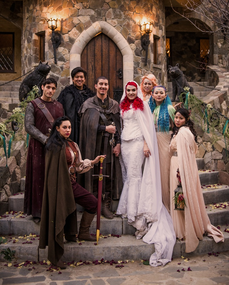 Game of Thrones wedding photos by Alexandra Nurthen