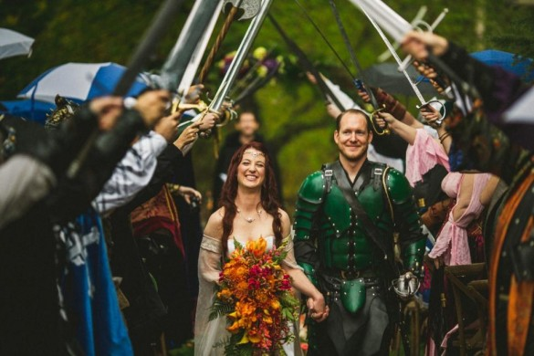 Game of Thrones wedding photos