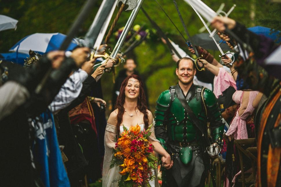 Game of Thrones Wedding Photos by the Willinghams Photography