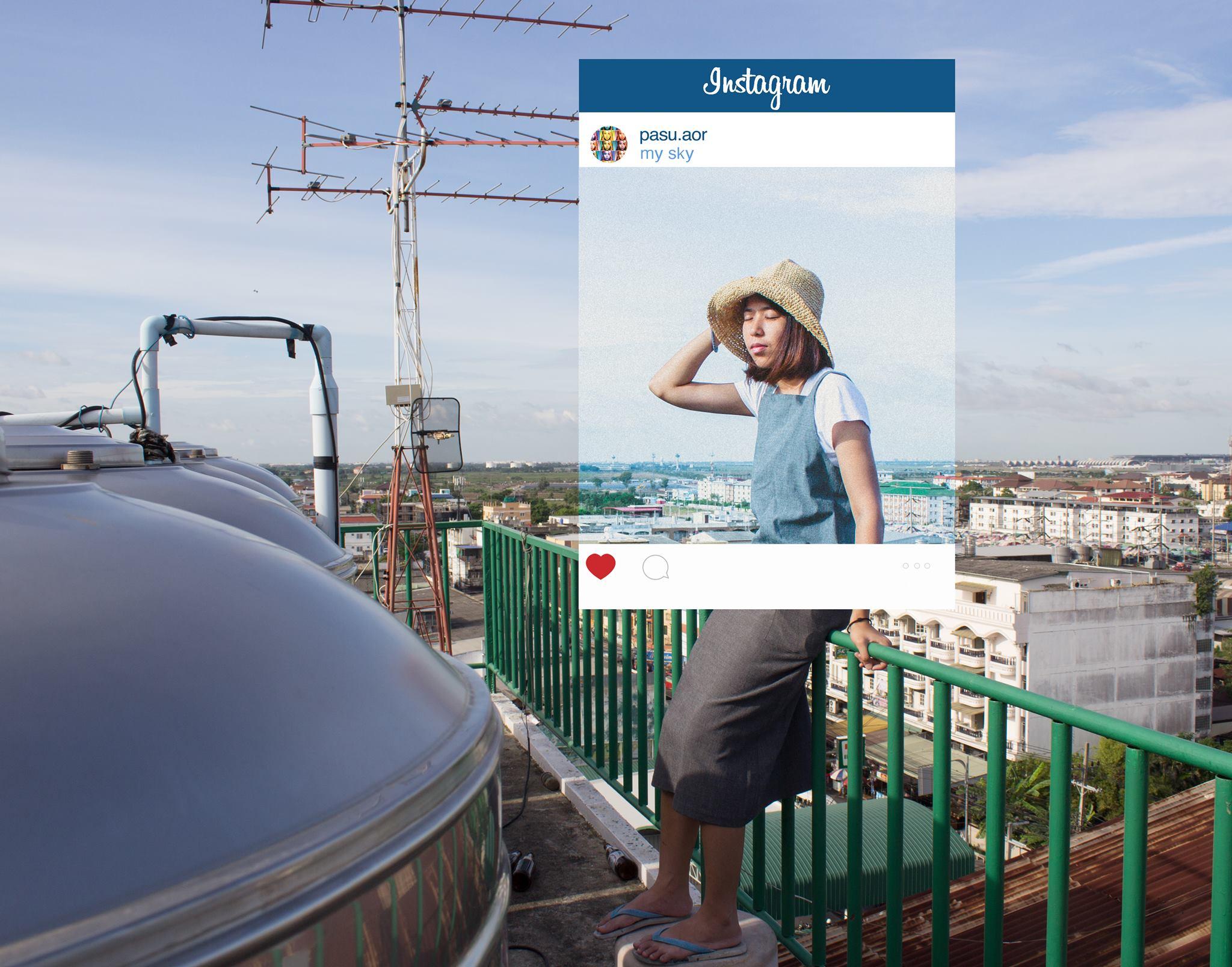 Chompoo Baritone Instagram