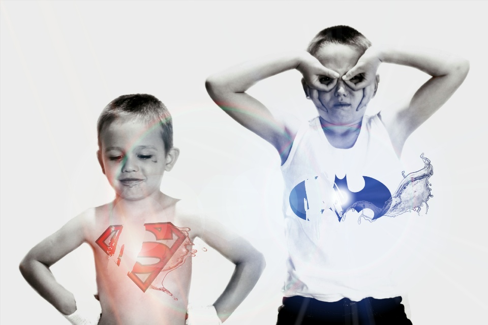 Superman and Batman Photo Edit - PicsArt Photo Editor