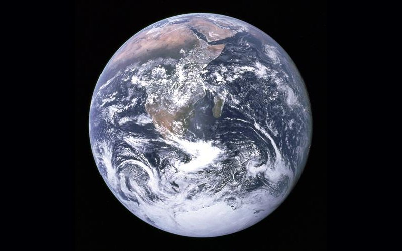 Planet Earth Photo from Apollo 17 - NASA Images