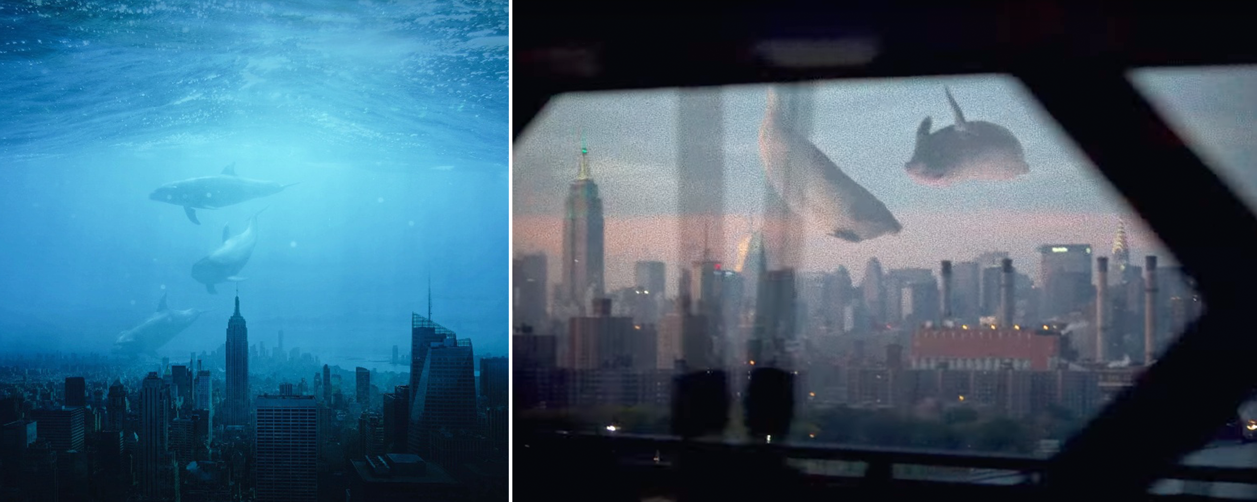 Left by @smwallday on PicsArt; Right from Coldplay's Up & Up music video