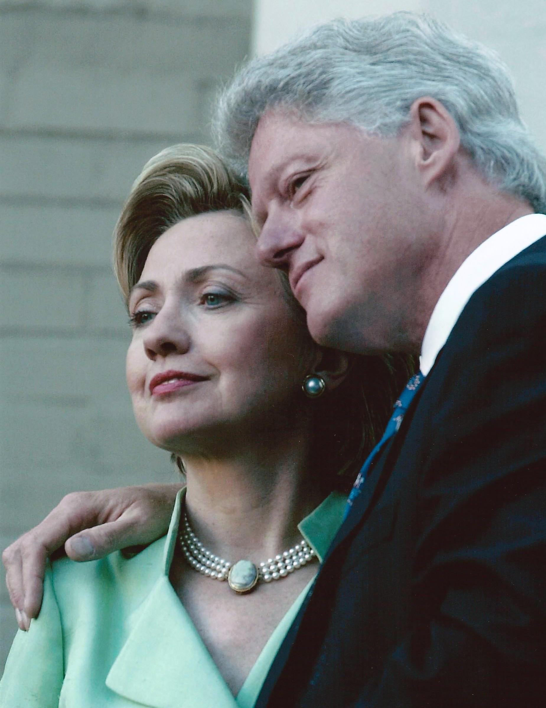 Bill and HIllary Clinton - Photo by Joyce Naltchayan Boghosian