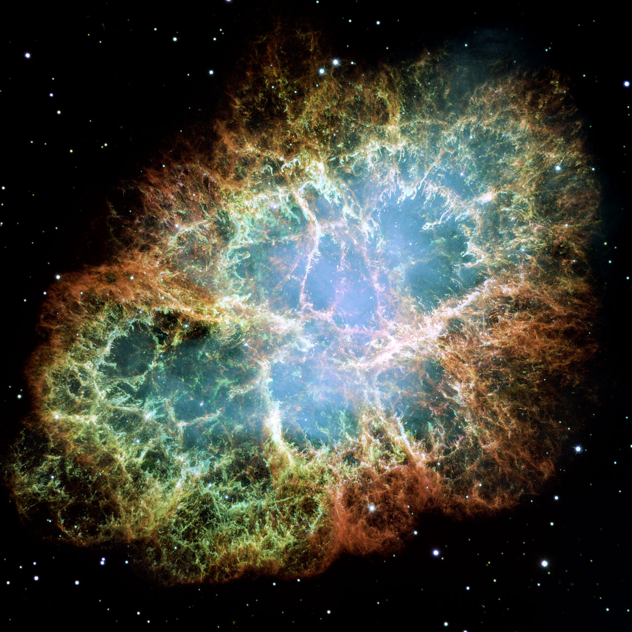 Crab Nebula Hubble Telescope - NASA Space Pictures