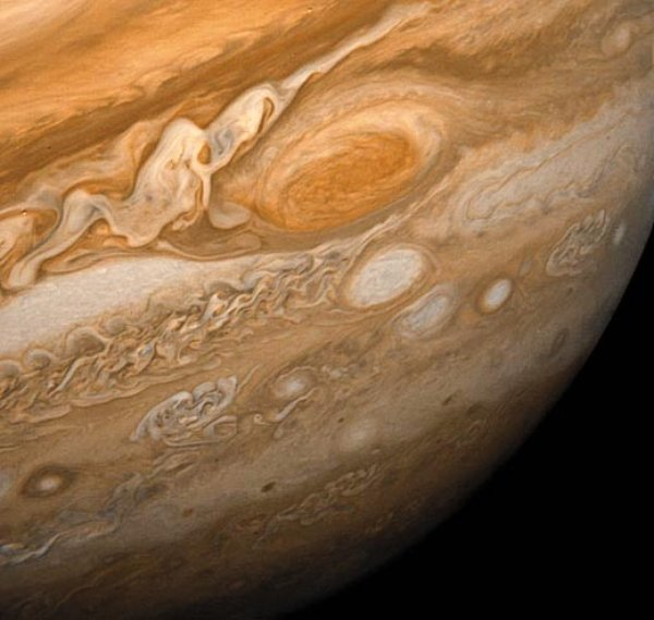 The Great Red Spot on Jupiter - NASA Space Pictures