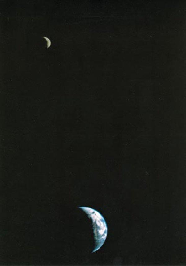 Earth and Moon - NASA Space Photos