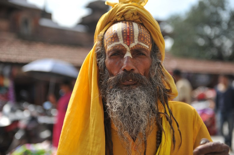 Nepal Religious Man - Culture Photo by Spencer Brown