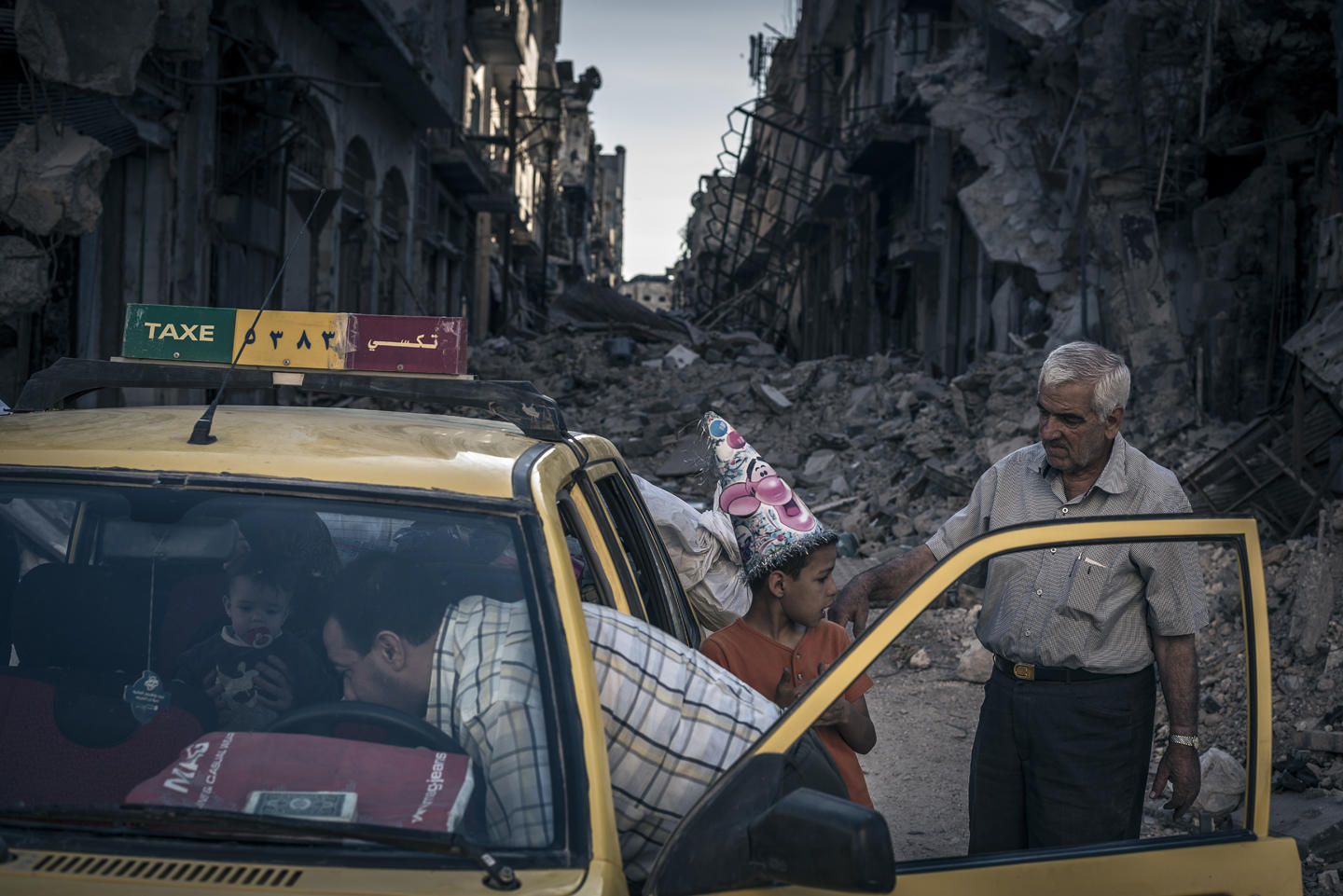 Damascus Syria | Photo by Sergey Ponomarev | Photojournalism Tips
